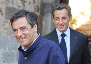 remaniement ou pas: Sarkozy et Fillon, comme d'hab.